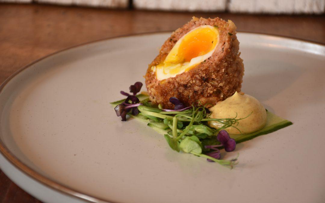 Chicken Tikka Scotch Egg